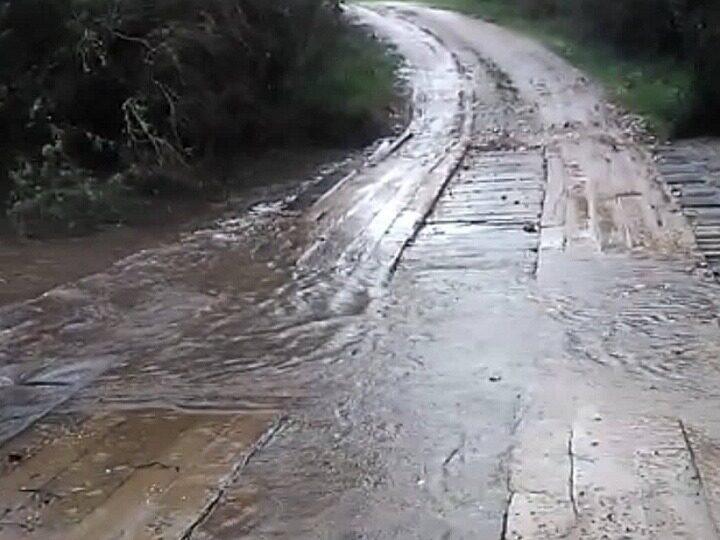 Chuva intensa e cheia dos rios geram preocupação no interior de Vila Nova do Sul e São Sepé