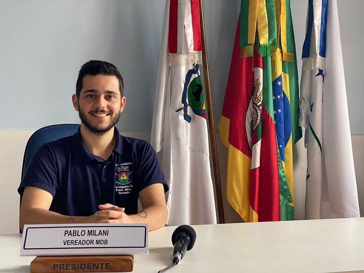 Presidente da Câmara de Formigueiro avalia trabalhos do Legislativo