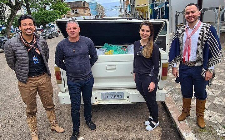 Uma tonelada de alimento foi arrecadada com os ingressos do Sinuelo