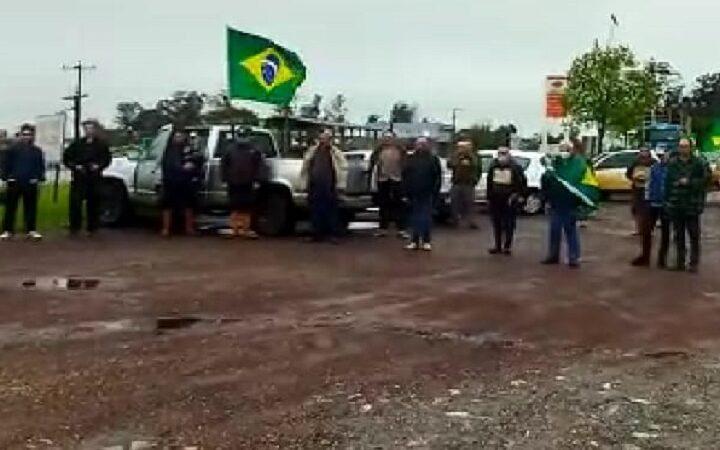Vila Nova Sul teve movimento em apoio ao governo de Jair Bolsonaro