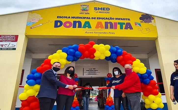 Cerimônia marca a abertura oficial da EMEI Dona Anita