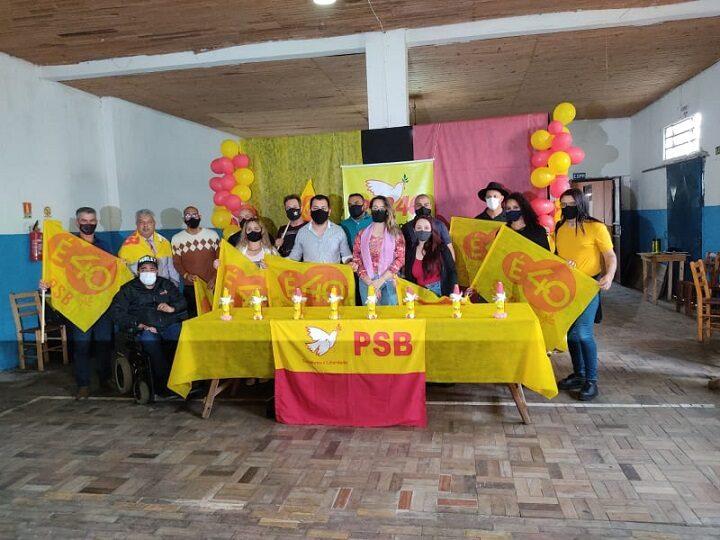 Vereador Rodrigo Ferreira é eleito presidente do PSB de São Sepé